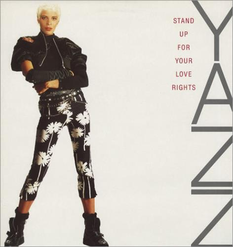 """Yazz Stand Up For Your Love Rights 12"""" vinyl single (12 inch record / Maxi-single) UK YZZ12ST187569"""