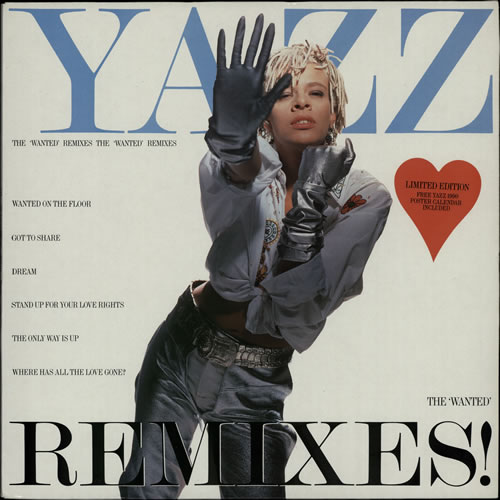 Yazz The Wanted Remixes vinyl LP album (LP record) UK YZZLPTH18982