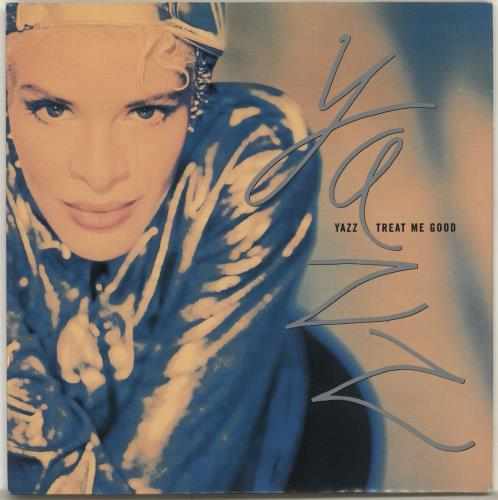 "Yazz Treat Me Good 7"" vinyl single (7 inch record) UK YZZ07TR634683"