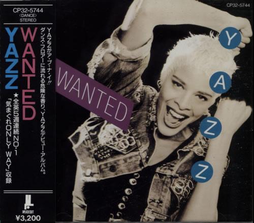 Yazz Wanted CD album (CDLP) Japanese YZZCDWA386751