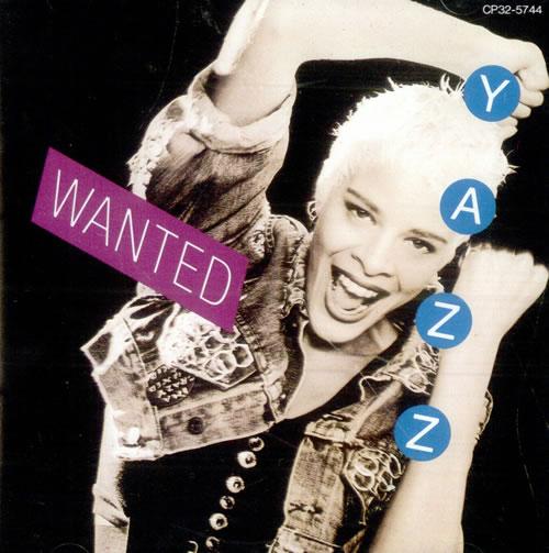 Yazz Wanted CD album (CDLP) Japanese YZZCDWA512586
