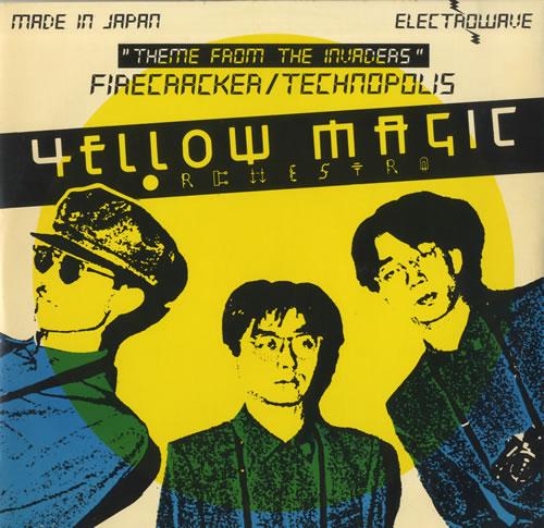 "Yellow Magic Orchestra Firecracker - Black Vinyl 12"" vinyl single (12 inch record / Maxi-single) UK YMO12FI53528"