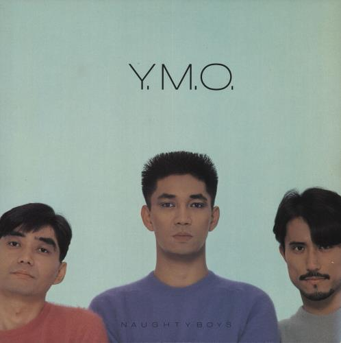Yellow Magic Orchestra Naughty Boys vinyl LP album (LP record) Japanese YMOLPNA46863