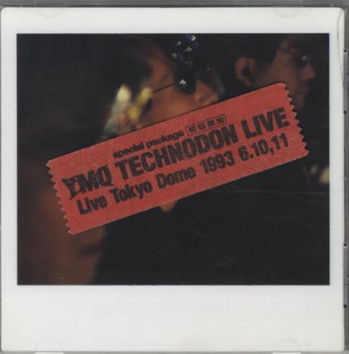 Yellow Magic Orchestra Technodon Live CD album (CDLP) Japanese YMOCDTE19020