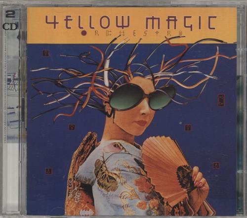 Yellow Magic Orchestra Y.M.O 2 CD album set (Double CD) UK YMO2CYM268205