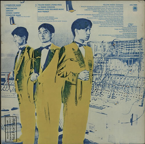 Yellow Magic Orchestra Yellow Magic Orchestra - Gold Promo Stamped vinyl LP album (LP record) UK YMOLPYE53742