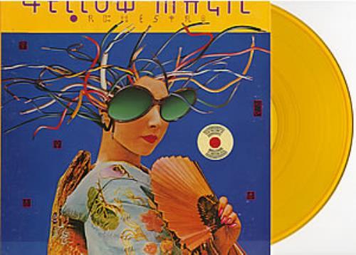 Yellow Magic Orchestra Yellow Magic Orchestra - Orange Vinyl vinyl LP album (LP record) US YMOLPYE47074