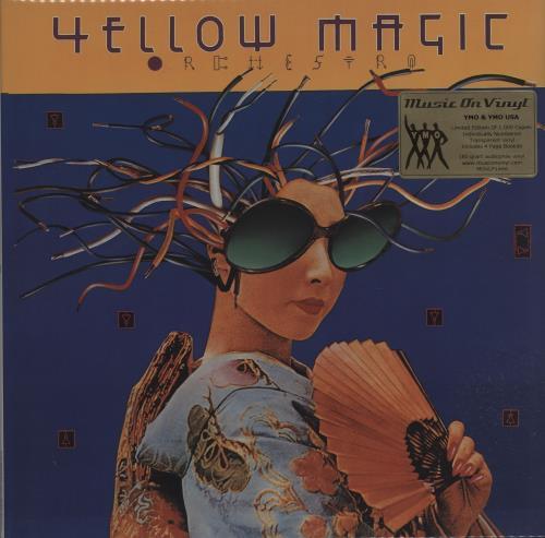 Yellow Magic Orchestra Yellow Magic Orchestra USA / Yellow Magic Orchestra - 180gram Clear 2-LP vinyl record set (Double Album) UK YMO2LYE660419