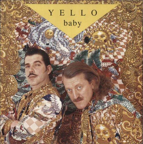 Yello Baby vinyl LP album (LP record) UK YELLPBA522643