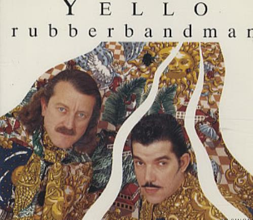 "Yello Rubberbandman CD single (CD5 / 5"") UK YELC5RU44018"