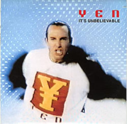 """Yen It's Unelievable 10"""" vinyl single (10"""" record) US YEN10IT32033"""