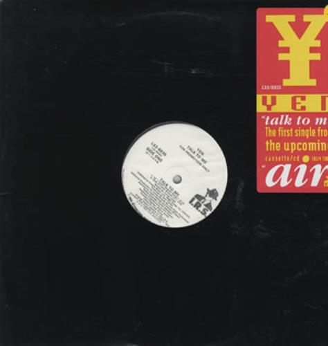 "Yen Talk To  Me 12"" vinyl single (12 inch record / Maxi-single) US YEN12TA35539"