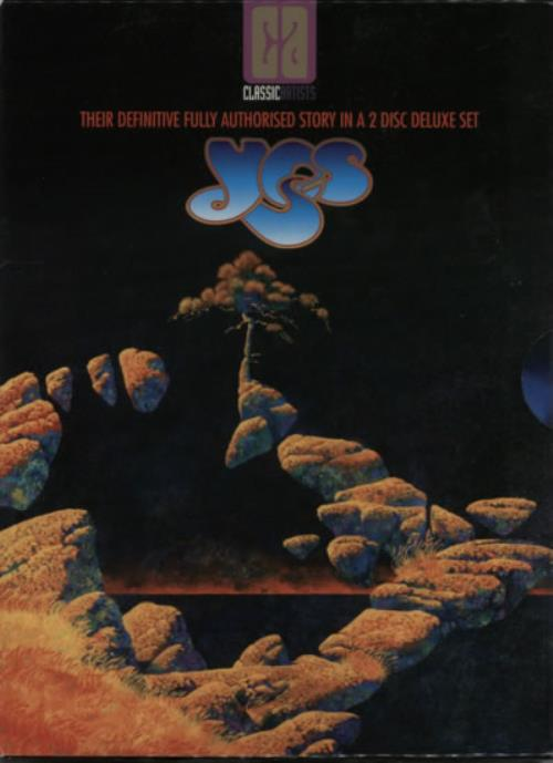 Yes Classic Artists Vol.3 DVD UK YESDDCL615168