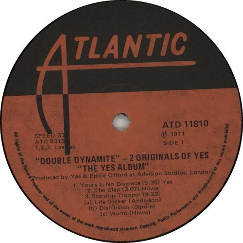 Yes Double Dynamite 2-LP vinyl record set (Double Album) South African YES2LDO667360