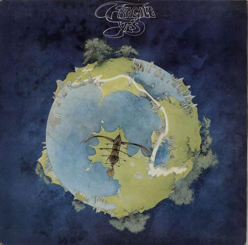 Yes Fragile - 1st vinyl LP album (LP record) UK YESLPFR572822