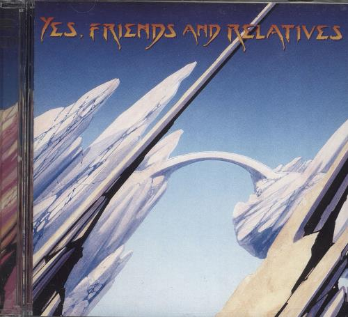 Yes Friends And Relatives 2 CD album set (Double CD) UK YES2CFR743027