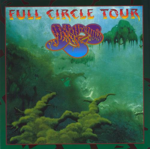 Yes Full Circle tour programme UK YESTRFU319304