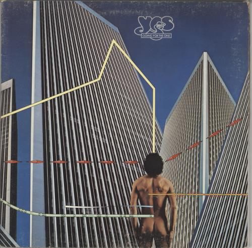 Yes Going For The One vinyl LP album (LP record) US YESLPGO141790