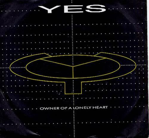 Yes Owner Of A Lonely Heart Us 7 Quot Vinyl Single 7 Inch
