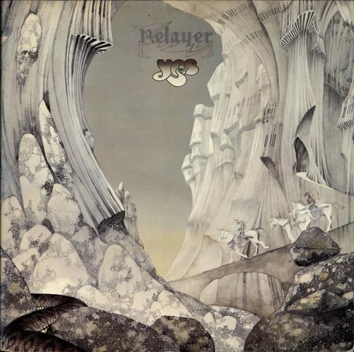 Yes Relayer - 1st + Inner - EX vinyl LP album (LP record) UK YESLPRE568770