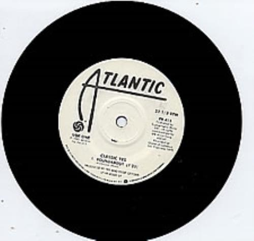 """Yes Roundabout 7"""" vinyl single (7 inch record) Canadian YES07RO122505"""