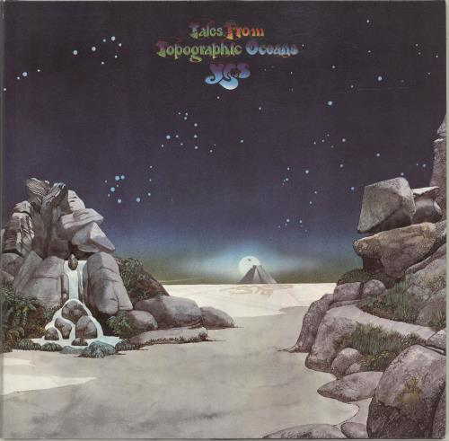 Yes Tales From Topographic Oceans - Barcoded 2-LP vinyl record set (Double Album) German YES2LTA688902