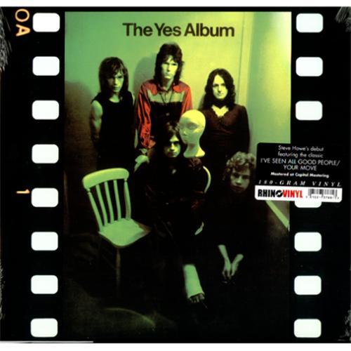 Yes The Yes Album vinyl LP album (LP record) US YESLPTH417241