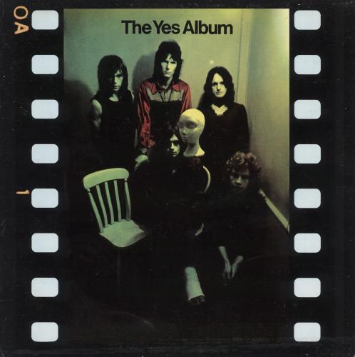Yes The Yes Album vinyl LP album (LP record) US YESLPTH728071
