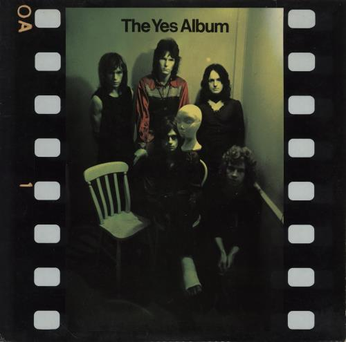 Yes The Yes Album vinyl LP album (LP record) German YESLPTH758063