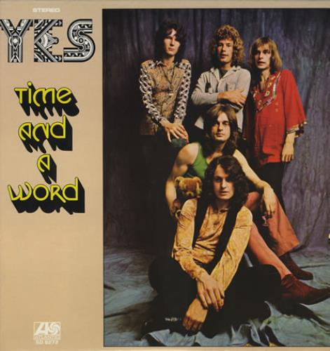Yes Time And A Word vinyl LP album (LP record) US YESLPTI381485