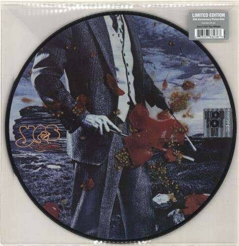 Yes Tormato - RSD18 - Sealed picture disc LP (vinyl picture disc album) UK YESPDTO694845