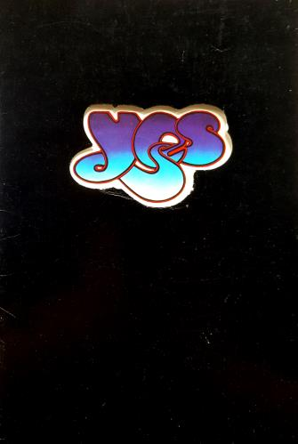 Yes UK Tour 1973 - Autographed tour programme UK YESTRUK700862