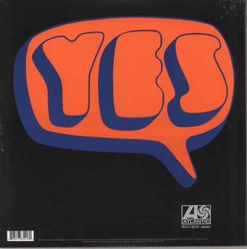 Yes Yes - RSD19 - 180gm Orange Vinyl - Sealed vinyl LP album (LP record) UK YESLPYE718460
