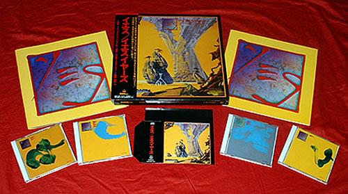 Yes Yes Years Box Set Japanese Cd Album Box Set 23625