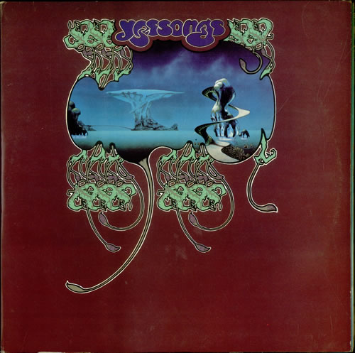 Yes Yessongs 2nd Uk 3 Lp Vinyl Record Set Triple Album