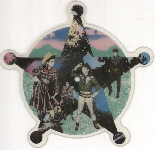 Yip Yip Coyote Dream Of The West shaped picture disc (picture disc vinyl record) UK YYCSHDR124596