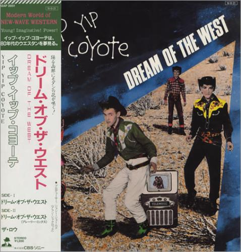 """Yip Yip Coyote Dream Of the West 12"""" vinyl single (12 inch record / Maxi-single) Japanese YYC12DR400025"""