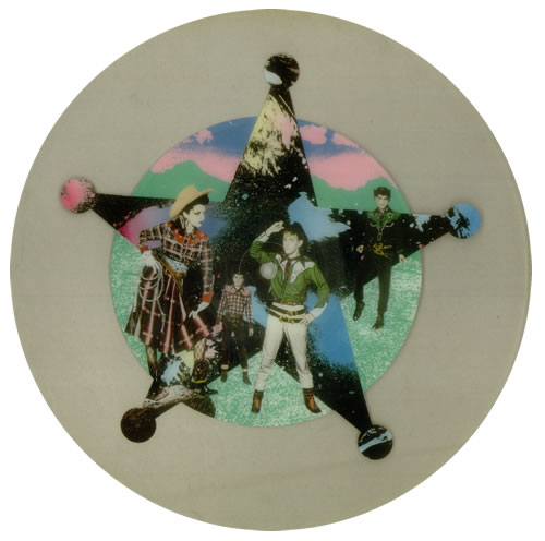 Yip Yip Coyote Dream Of The West uncut picture disc (vinyl) UK YYCUNDR544409