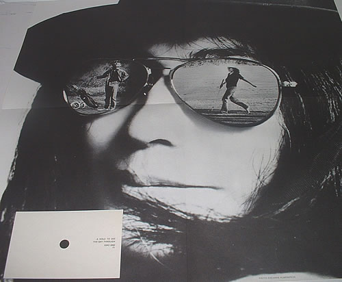 Yoko Ono Fly Poster Art Piece Uk 2 Lp Vinyl Record Set Double Album 335563