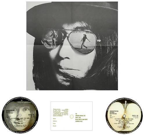 Yoko Ono Fly Complete Uk Promo 2 Lp Vinyl Record Set Double Album 449483