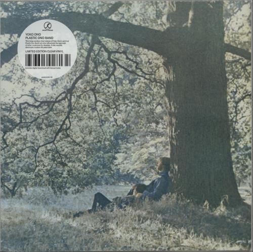 Yoko Ono Plastic Ono Band - Clear Vinyl - Sealed vinyl LP album (LP record) US ONOLPPL661374