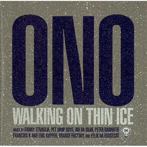 "Yoko Ono Walking On Thin Ice CD single (CD5 / 5"") US ONOC5WA243636"