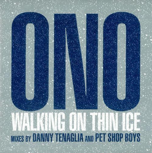 "Yoko Ono Walking On Thin Ice 12"" vinyl single (12 inch record / Maxi-single) UK ONO12WA247338"