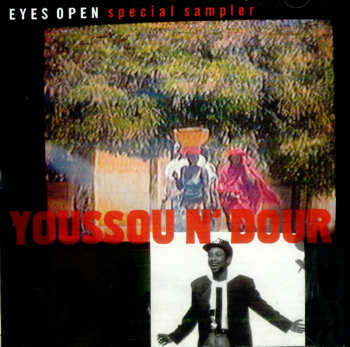 "Youssou N'Dour Eyes Open - Special Sampler CD single (CD5 / 5"") US YSOC5EY515194"