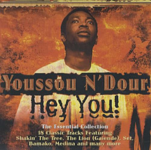 youssou n dour hey you uk cd r acetate 330894