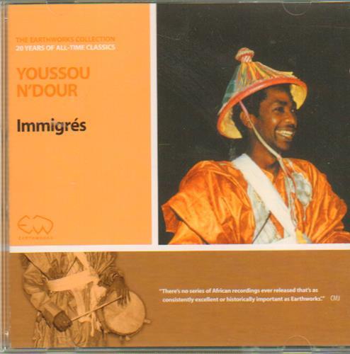Youssou N'Dour Immigres CD album (CDLP) German YSOCDIM648137