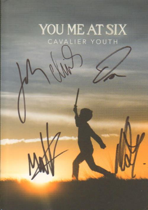 You Me At Six Cavalier Youth - Autographed Deluxe Edition 2-disc CD/DVD set UK YMI2DCA641429