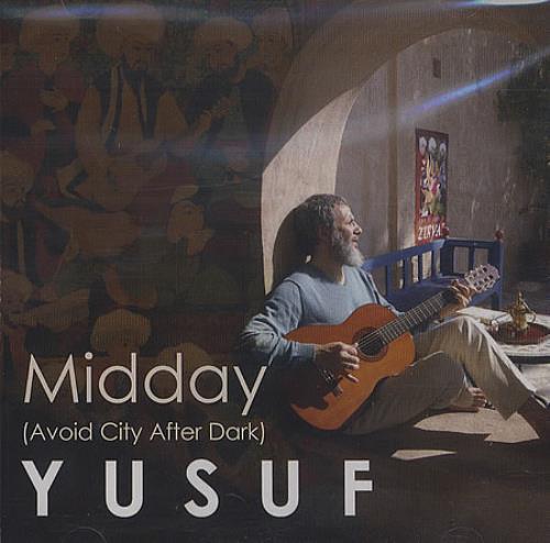 "Yusuf Islam Midday (Avoid City After Dark) CD single (CD5 / 5"") US YUFC5MI397676"