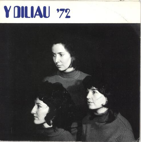 "Y Diliau '72 7"" vinyl single (7 inch record) UK 0BA07729668"