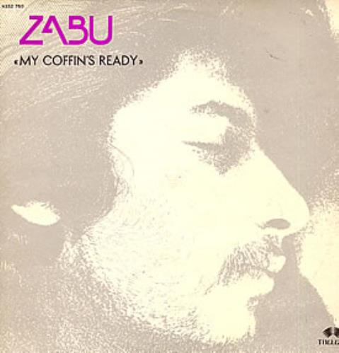 Zabu My Coffin's Ready vinyl LP album (LP record) French ZABLPMY261909